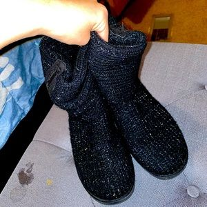 Black SO boots